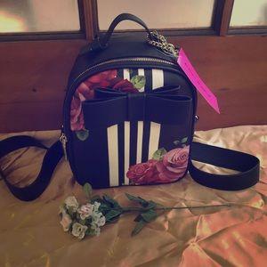 Betsey Johnson mini backpack NWT
